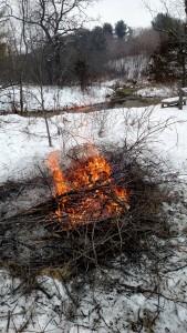 Burning remainig brush at Kelly Creek 20160124 a