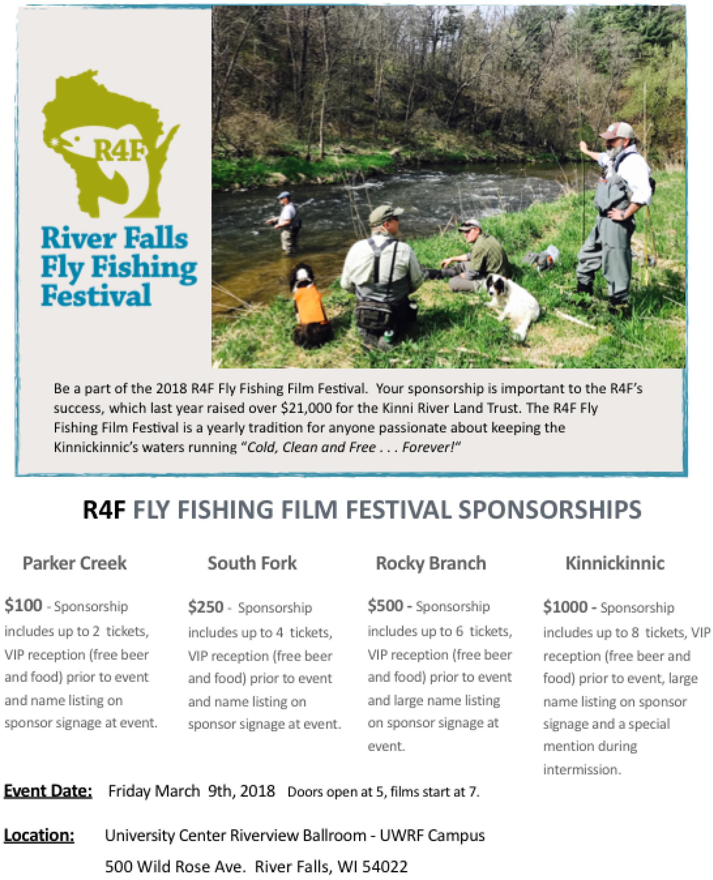 River Falls Fly Fishing Film Festival